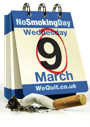 No Smoking Day Event, 9th March, nosmokingday.org.uk
